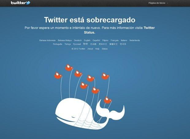Twitter mensaje