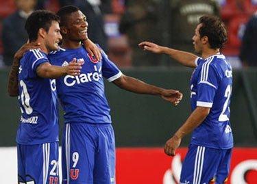 U. de Chile goleó 6-0 al Deportivo Quito y enfrentará a cuartos al Libertad de Paraguay