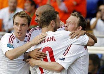 Dinamarca dio el golpe en la Eurocopa y ganó 1-0 a Holanda
