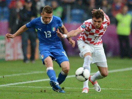 Italia resignó dos punto ante Croacia por la Eurocopa