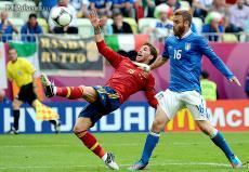 España e Italia debutaron con un empate en la Eurocopa