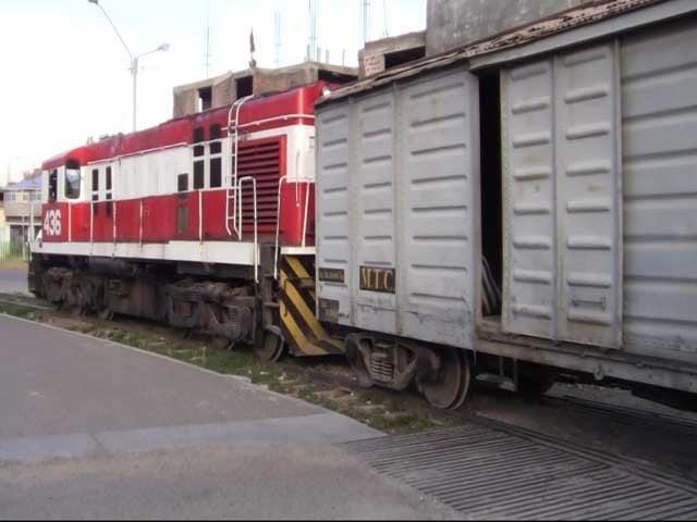 Locomotora atropella a un hombre en La Oroya