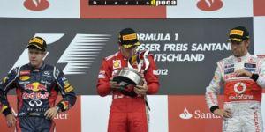 El español Alonso obtuvo en Alemania su tercera victoria de la temporada en Fórmula 1