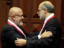 Carlos Bruce y Daniel Abugattás