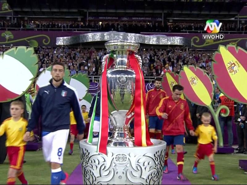 La copa Euro 2012