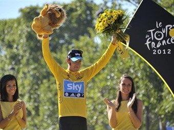 Gran Bretaña obtiene mediante Wiggins su primer Tour de Francia