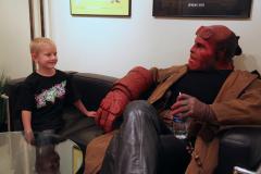 Hellboy y Zachary