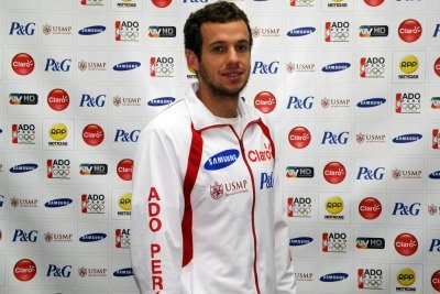 El nadador peruano Sebastián Jahnsen tuvo debut y despedida en Londres