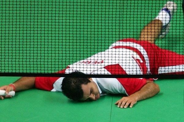 El badmintonista Rodrigo Pacheco quedó fuera de Londres 2012