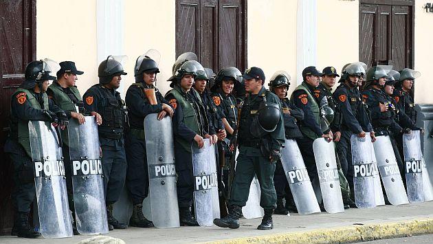 Policías bajo la lupa en Cajamarca