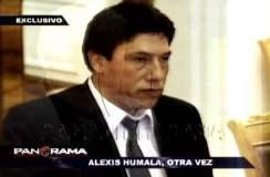 Alexis Humala, otra vez en la mira