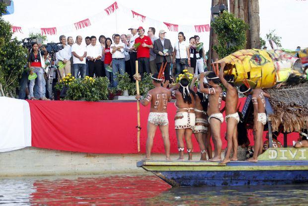 """Presidente Ollanta Humala participa en la ceremonia de reconocimiento a la Amazonía como """"Maravilla Natural del Mundo"""""""