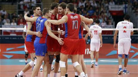 Rusia es finalista del vóley olímpico tras derrotar a Bulgaria