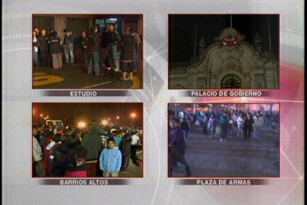 Simulacro 2012 en Lima