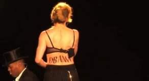 Madonna apoya a Barack Obama