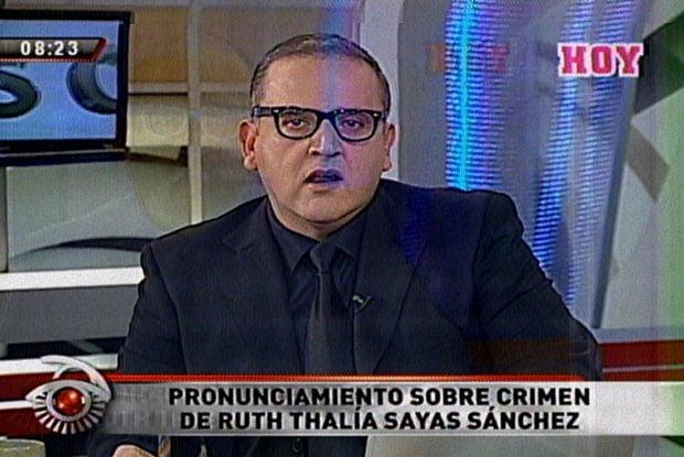 Beto Ortiz se pronuncia sobre muerte de Ruth Thalía Sayas Sánchez