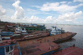 El terminal portuario de Iquitos fue el de mayor movimiento de naves en el mes de junio