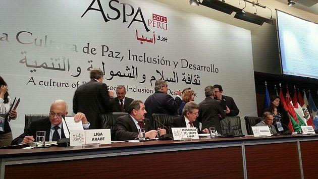 Hoy se inauguró la  Cumbre ASPA con una reunión entre cancilleres de Estado