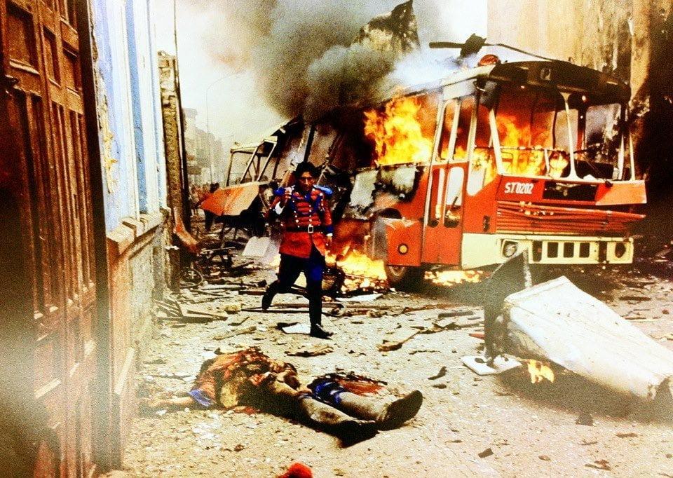 Cobarde atentado terrorista de Sendero Luminoso ( Fotos:José Velásquez / Diario OJO )