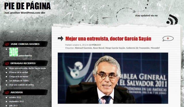Blog de Jaime Chincha / http://jaimechincha.wordpress.com/