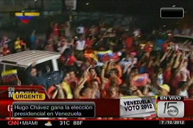 Chavistas celebran