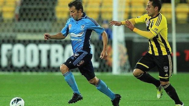 Del Piero debutó con su nuevo equipo, Sydney F.C. de Australia