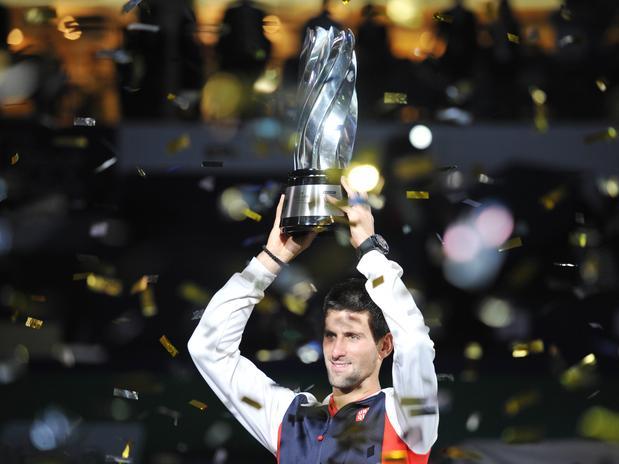 Novak Djokovic obtuvo el título de Shanghái, un Masters que lo había conquistado Murray en las últimas dos temporadas
