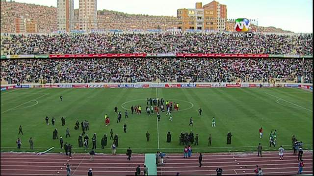 Estadio Hernando Siles de Bolivia