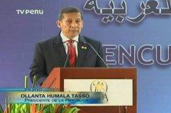 Ollanta Humala inaugura encuentro empresarial - III Cumbre ASPA