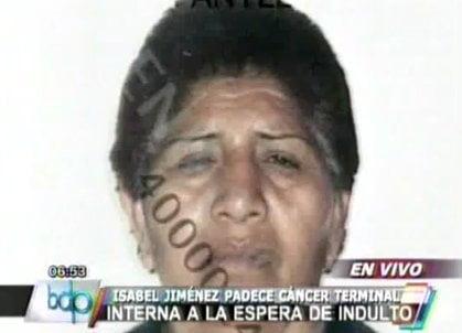 Isabel Jiménez Curay podrá reunirse con su familia