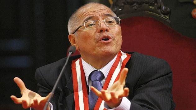 Presidente del PJ, César San Martín