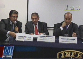 Luis Pérez Guadalupe y equipo del INPE (Canal N)