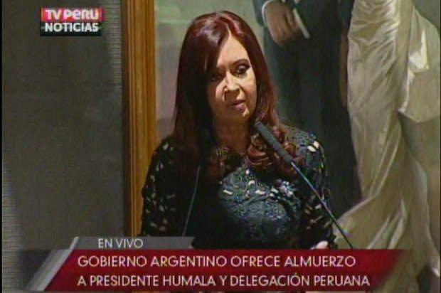 Discurso de Cristina Fernández