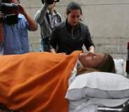 Delly Madrid trasladada a una clínica especializada (Diario Ojo)