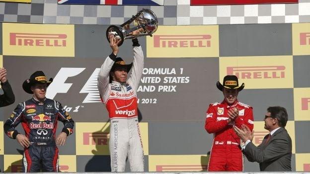 Hamilton ganó en Estados Unidos y el campeonato mundial de F1 se definirá en Brasil