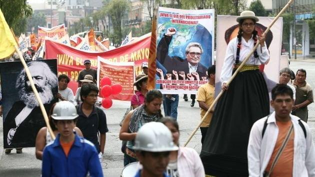 Movadef y su activismo
