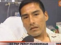Policia Percy Huamancaja