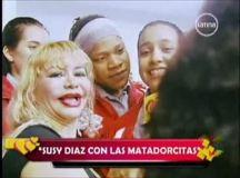 Susy Díaz y las matadorcitas