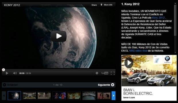 Los 10 videos virales del 2012