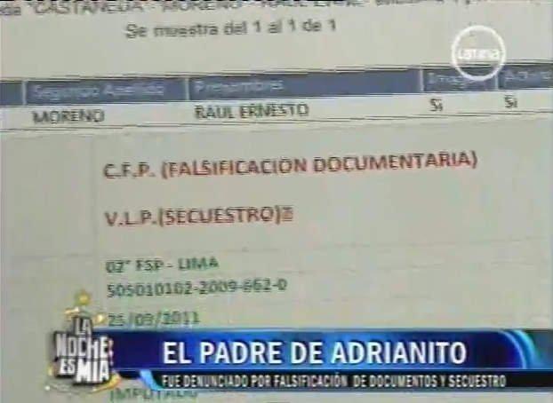 Documentos que complican a Raúl Castañeda
