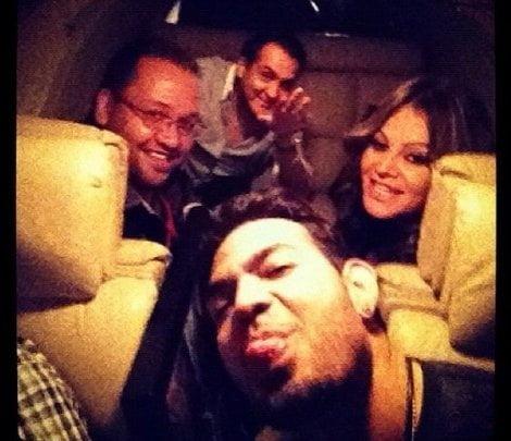 Jenni Rivera dentro de la avioneta siniestrada (Milenio)