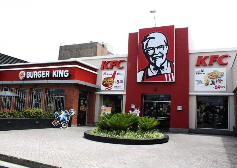Intervención a local de KFC (Foto: Municipalidad de San Miguel)