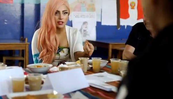 Lady Gaga en Ventanilla