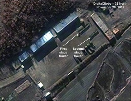 Imágenes satelitales de Norcorea