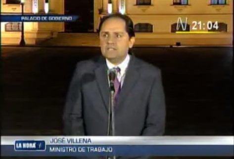 Ministro José Villena