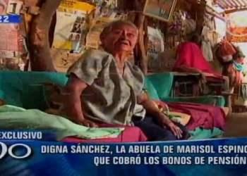 Digna Sánchez de Espinoza declaró a 90 Segundos