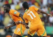 Costa de Marfil y Togo avanzaron a cuartos de final de la Copa Africana de fútbol