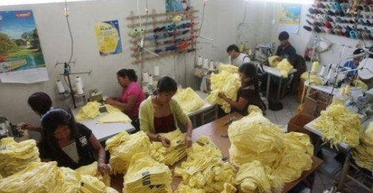 Las exportaciones peruanas de textil y confecciones eran las más afectadas con el sistema de licencias a las importaciones impuestas por Argentina