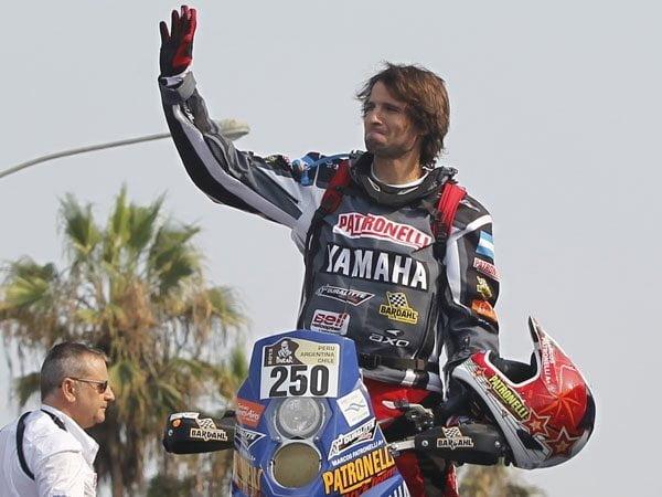 Campeón indiscutible. Por segunda oportunidad,  Marcos Patronelli se coronó campeón  del Rally Dakar en cuatriciclos.