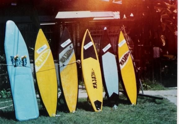 La exportación de tablas de surf creció en el año 2012, cuyos envíos se diversificaron a 10 países.
